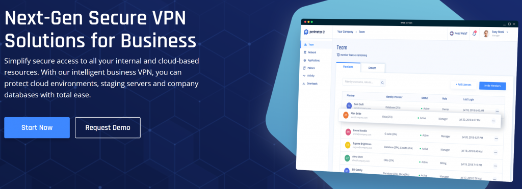perimeter 81 business vpn