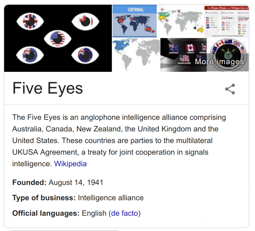 Five Eyes Alliance