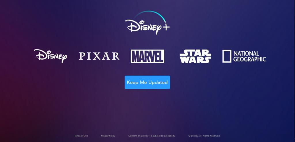 Disney+ Geo Blocked