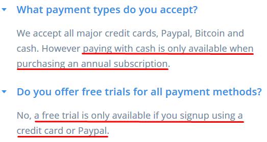 IVPN Payment Methods