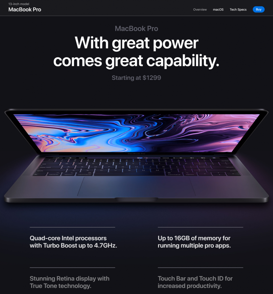 MacBook Pro 13-Inch Model